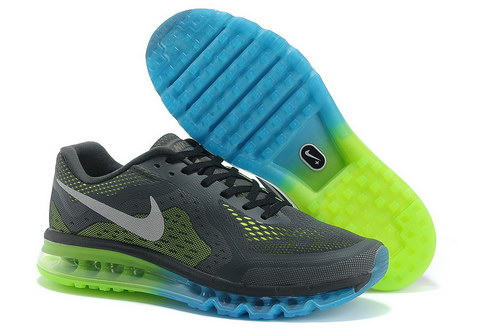 Mens Size Us7.5 9 10.5 11.5 Nike Air Max 2014 Blue Green Grey On Sale