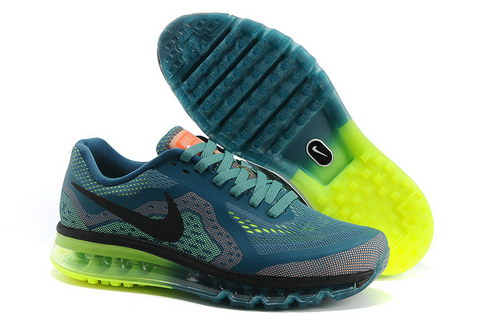 Mens Size Us7.5 9 10.5 11.5 Nike Air Max 2014 Blue Yellow Black Green Greece