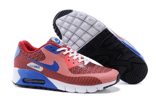 Nike Air Max 90 Jcrd Mens Shoes Orange Red Blue Hot Closeout