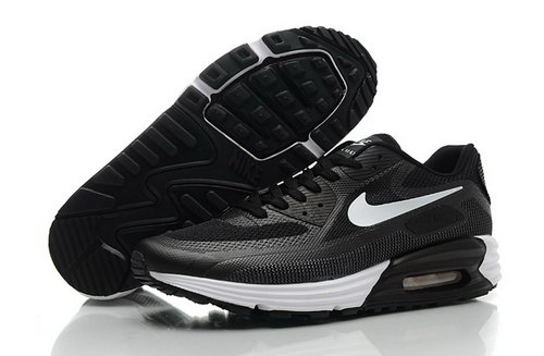 Nike Air Max Lunar 90 C3 0 Mens Shoes All Black White Special Poland