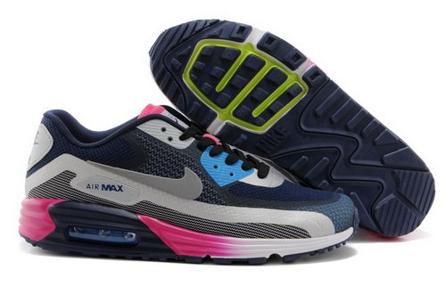 Nike Air Max Lunar 90 C3 0 Mens Shoes Dark Blue Rose Red Special Switzerland