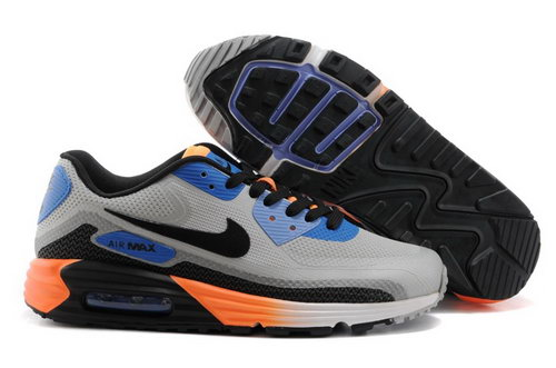 Nike Air Max Lunar 90 C3 0 Mens Shoes Gray Black Orange New For Sale