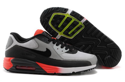 Nike Air Max Lunar 90 C3 0 Mens Shoes Gray Orange Black Online Store