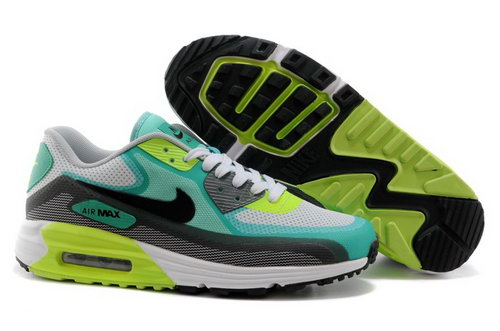Nike Air Max Lunar 90 C3 0 Mens Shoes Green Gray Black New Portugal