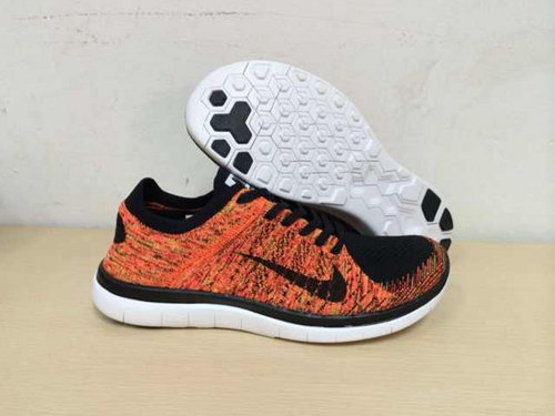 Nike Free Flyknit 4.0 Mens Shoes Mago Black Low Price
