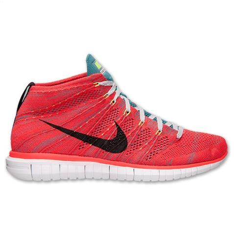 Nike Free Flyknit Chukka Mens Shoes Red Black Taiwan