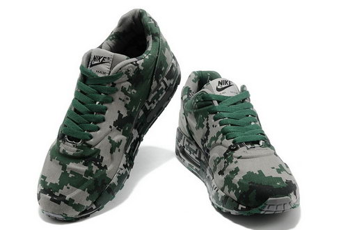 Nike Air Max 1 France Sp Camouflage Green Grey Outlet Online
