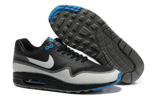 Nike Air Max 1 Hypefuse Men Black Blue Running Shoes Ireland