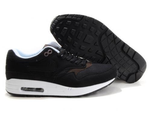 Nike Air Max 1 Men Black Brown Running Shoes Spain