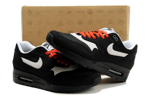 Nike Air Max 1 Men Black Red Running Shoes Review