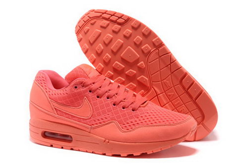 Nike Air Max 1 Unisex All Pink Running Shoes Poland