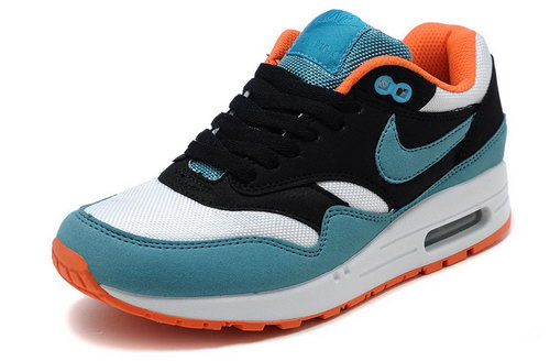 Nike Air Max 1 Womens Black Blue Orange Japan