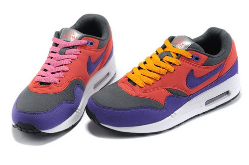 Nike Air Max 1 Womens Blue Red Black Korea