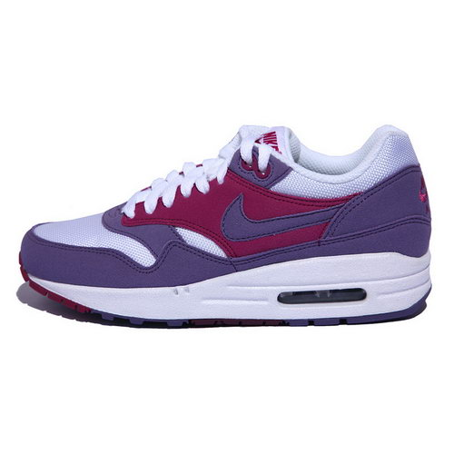 Nike Air Max 1 Womens Purple Earth White Berry Pink On Sale
