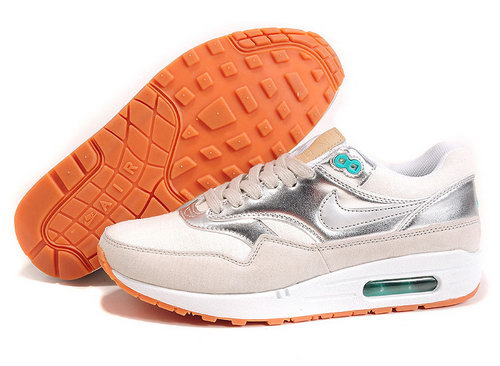 Nike Air Max 1 Womens Silver Greece