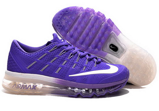 Nike Air Max 2016 Blue Purple White