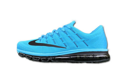 Nike Air Max 2016 Womens Black Blue White Canada