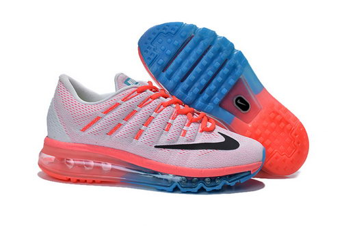 Nike Air Max 2016 Womens Orange Grey Blue Black Wholesale