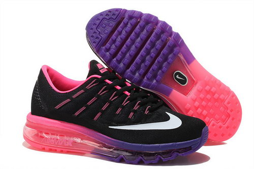 Nike Air Max 2016 Womens Purple Pink Black White Sale