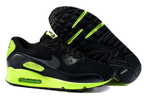 Nike Air Max 90 Em Mens Black Dark Grey Flash Lime Denmark
