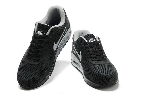 Nike Air Max 90 Em Mens Black Silver Factory Store