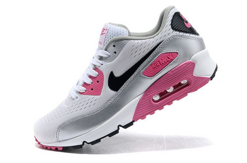 Nike Air Max 90 Em Mens Engineered Mesh Pink Silver Norway
