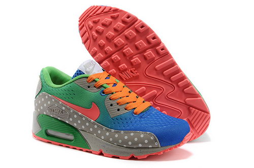 Nike Air Max 90 Em Women Blue Green Running Shoes Norway