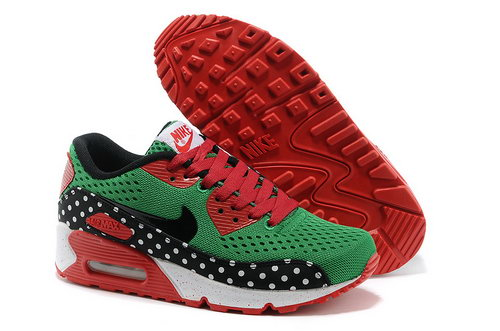 Nike Air Max 90 Em Women Green Red Running Shoes Online Shop