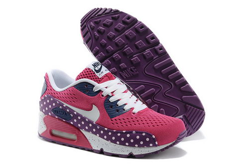 Nike Air Max 90 Em Women Purple Pink Running Shoes Review