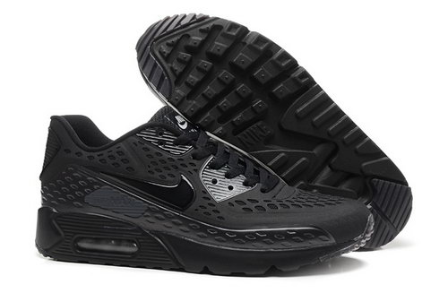 Nike Air Max 90 Hyp Prm Mens Shoes 2015 All Black Hot