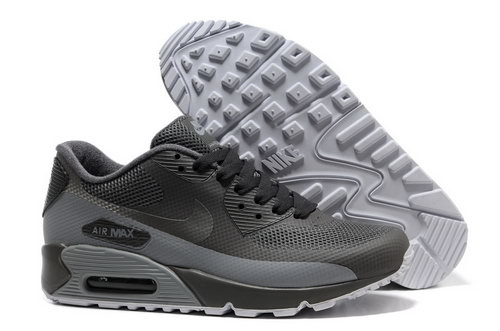 Nike Air Max 90 Hyp Frm Men All Gray Running Shoes Switzerland