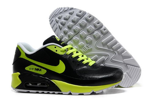 Nike Air Max 90 Hyp Frm Men Black Green Running Shoes For Sale