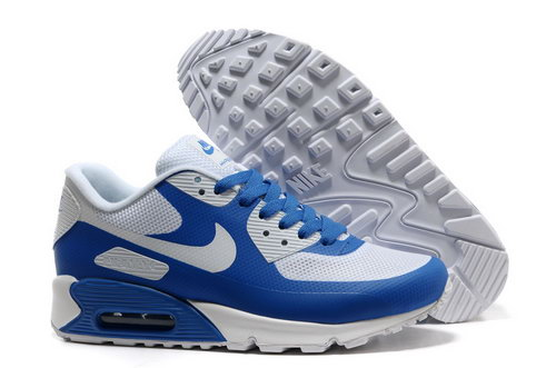 Nike Air Max 90 Hyp Frm Men Blue White Running Shoes Online Store