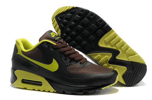 Nike Air Max 90 Hyp Frm Men Brown Green Running Shoes Portugal