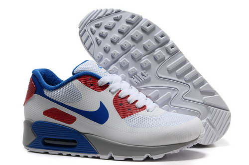 Nike Air Max 90 Hyp Frm Unisex White Red Running Shoes Switzerland