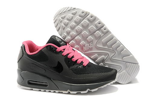 Nike Air Max 90 Hyp Frm Women Black Pink Running Shoes For Sale