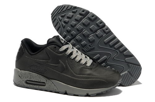 Nike Air Max 90 Hyp Prm Men Black Gray Running Shoes Czech