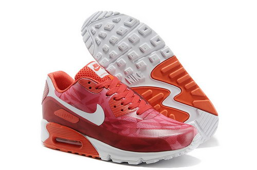 Nike Air Max 90 Hyp Prm Unisex All Red Jogging Shoes Usa