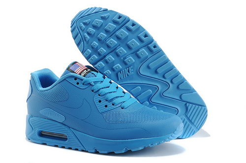 Nike Air Max 90 Hyp Qs Unisex All Blue Sneakers Online Store