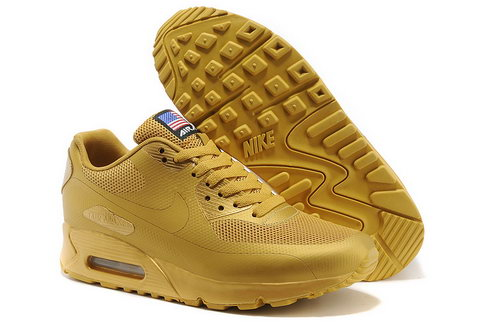 Nike Air Max 90 Hyp Qs Unisex All Yellow Sneakers Denmark