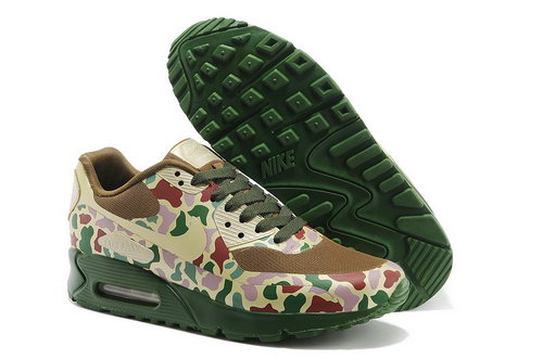 Nike Air Max 90 Hyp Sp Men Forest Camouflage Hiking Shoes Clearance
