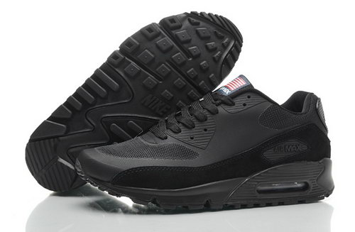 Nike Air Max 90 Hyperfuse Qs Mens Shoes Fur Black All Hot On Sale Factory Store