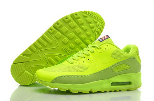 Nike Air Max 90 Hyperfuse Qs Mens Shoes Fur Green All Hot On Sale Outlet Online
