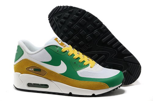 Nike Air Max 90 Hyperfuse Unisex Yellow White Running Shoes Norway