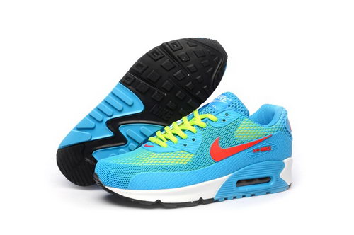 Nike Air Max 90 Kpu Tpu Mens Shoes Baby Blue Pink Yellow Low Cost