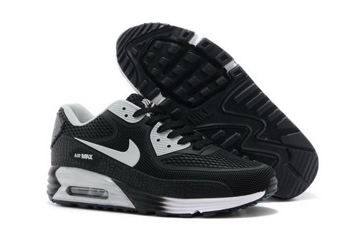 Nike Air Max 90 Kpu Tpu Mens Shoes Black Silver New Best Price