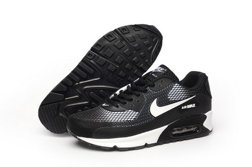 Nike Air Max 90 Kpu Tpu Mens Shoes Black White Special Discount Code