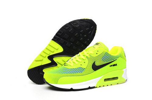 Nike Air Max 90 Kpu Tpu Mens Shoes Bling Green Black Special Outlet