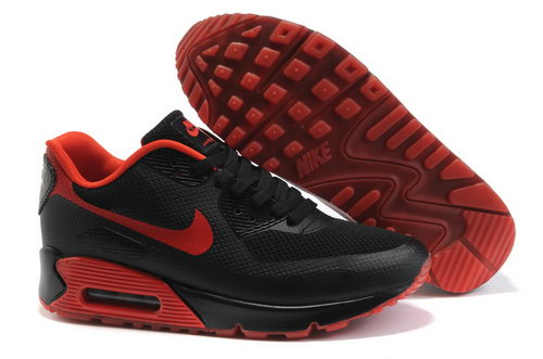Nike Air Max 90 Mens Red Black Portugal