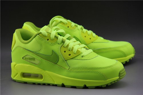 Nike Air Max 90 Mens Shoes All Electircal Greeen Special Promo Code